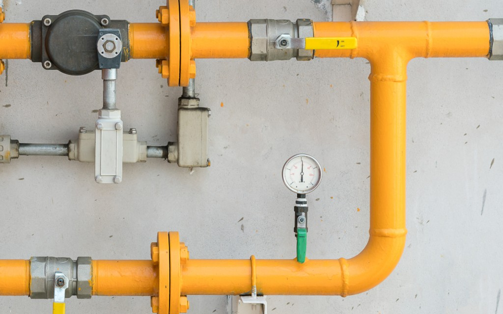 gas pipe monitor