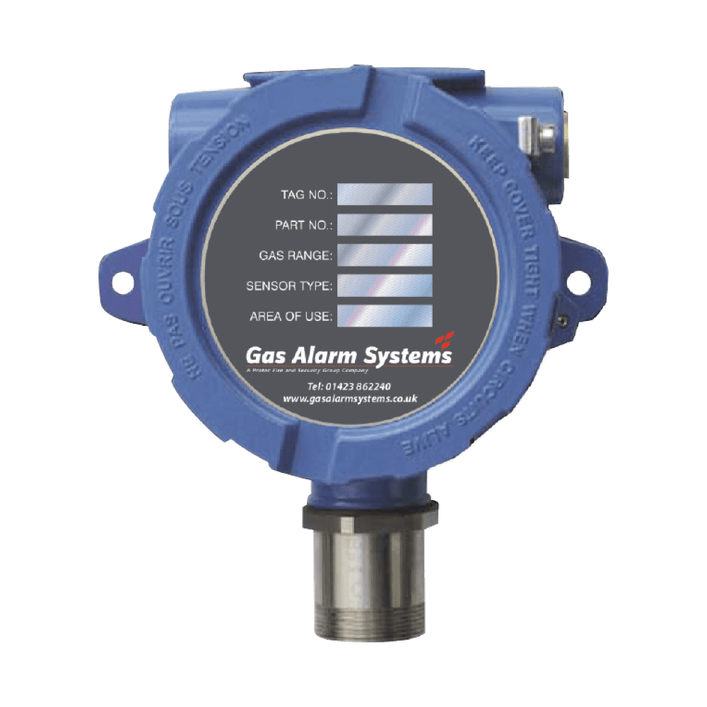 GAS 820 - Fixed Gas Detectors for Oxygen, toxic and flammable gases