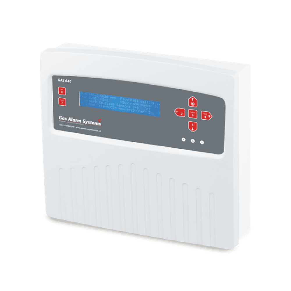 GAS 640 / 16 - GAS Detection Systems | Control Panel
