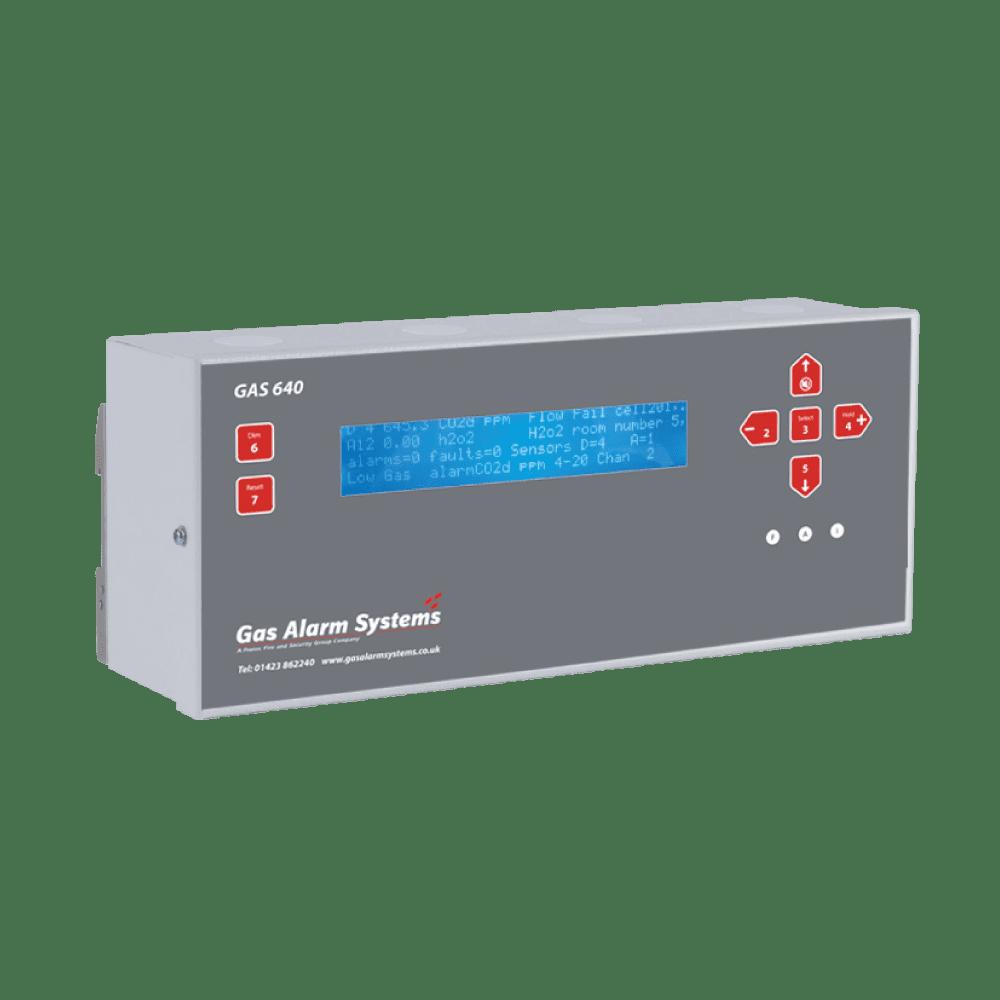GAS 640 Din Rail Mount