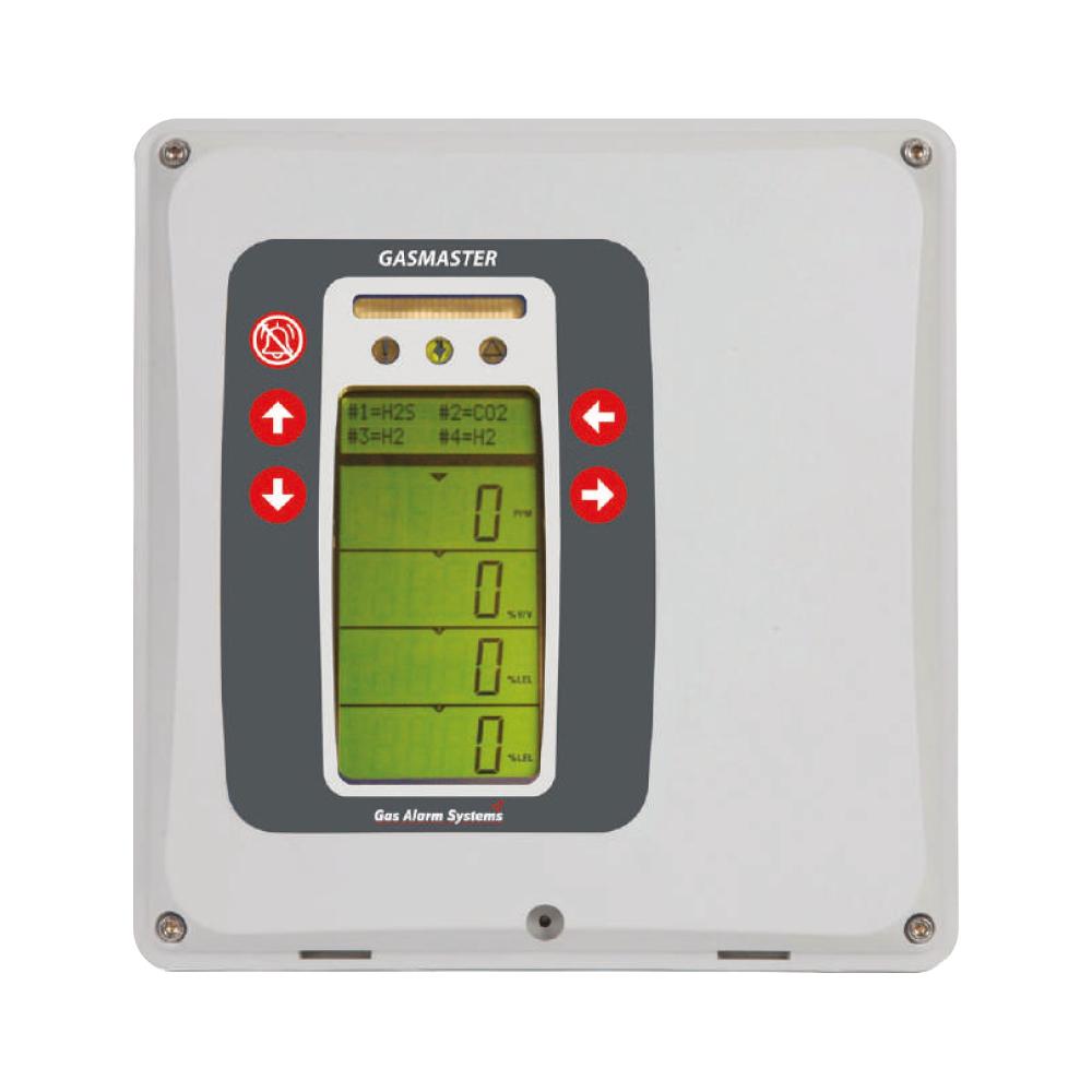 Gasmaster - Gas detection - Control Panel